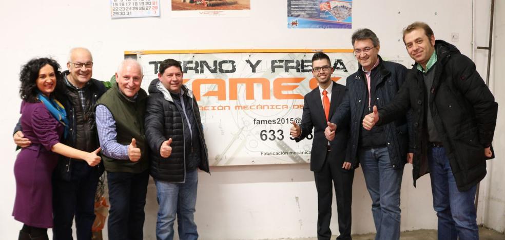 Fames presenta una nueva máquina de corte única en la provincia de León