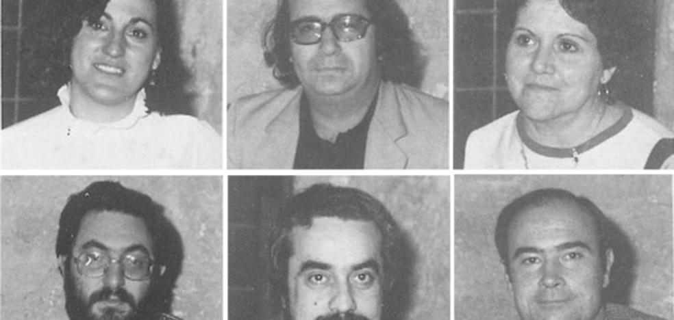 Los rostros de la primera legislatura (1983-1987)