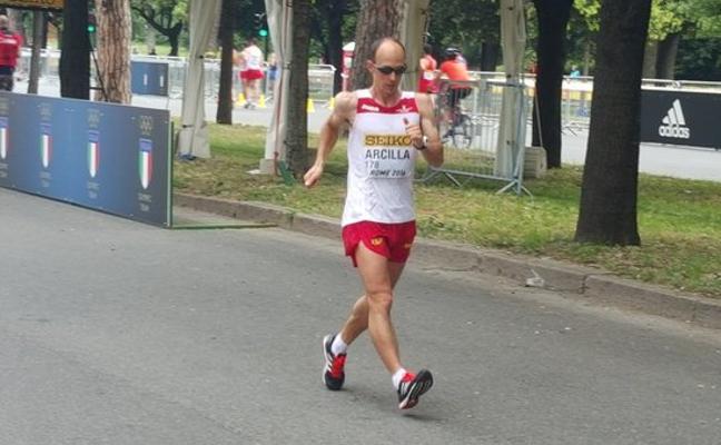 Arcilla finaliza en séptima posición el nacional de 50 kilómetros