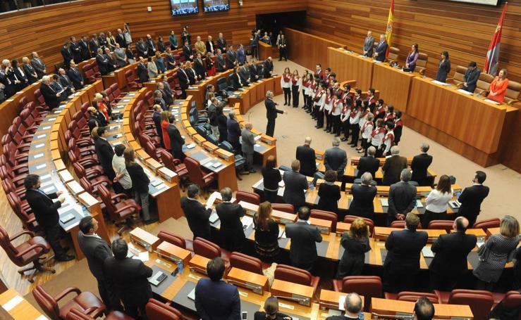Acto conmemorativo del XXXV Aniversario del Estatuto de Autonomía de Castilla y León