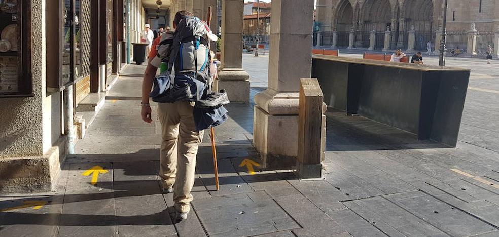 C's exige al equipo de gobierno que ponga en marcha la nueva señalización del Camino de Santiago