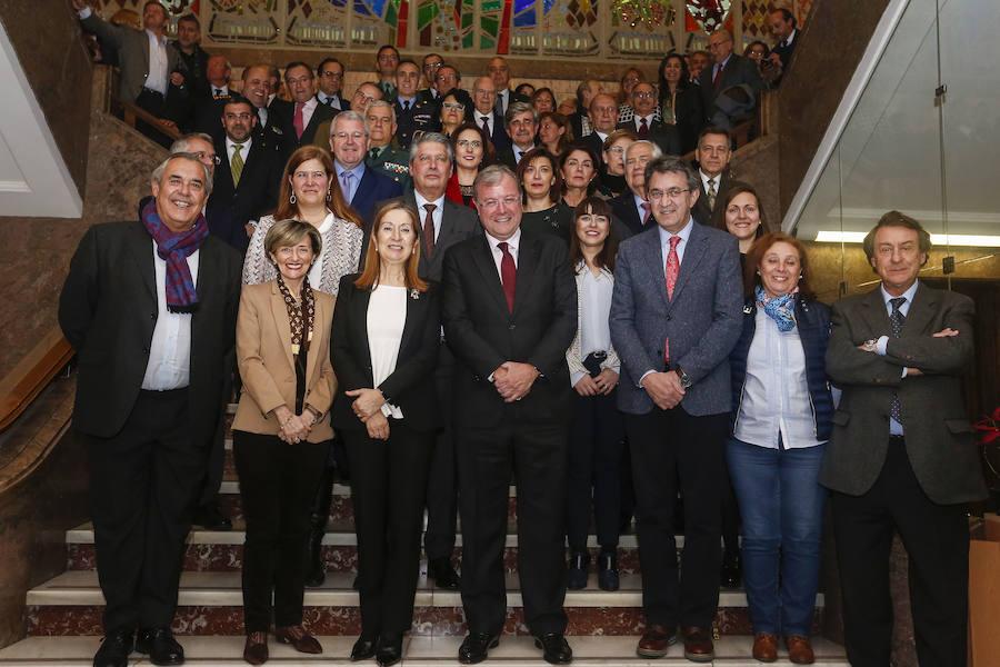 Ana Pastor visita León, cuna del Parlamentarismo