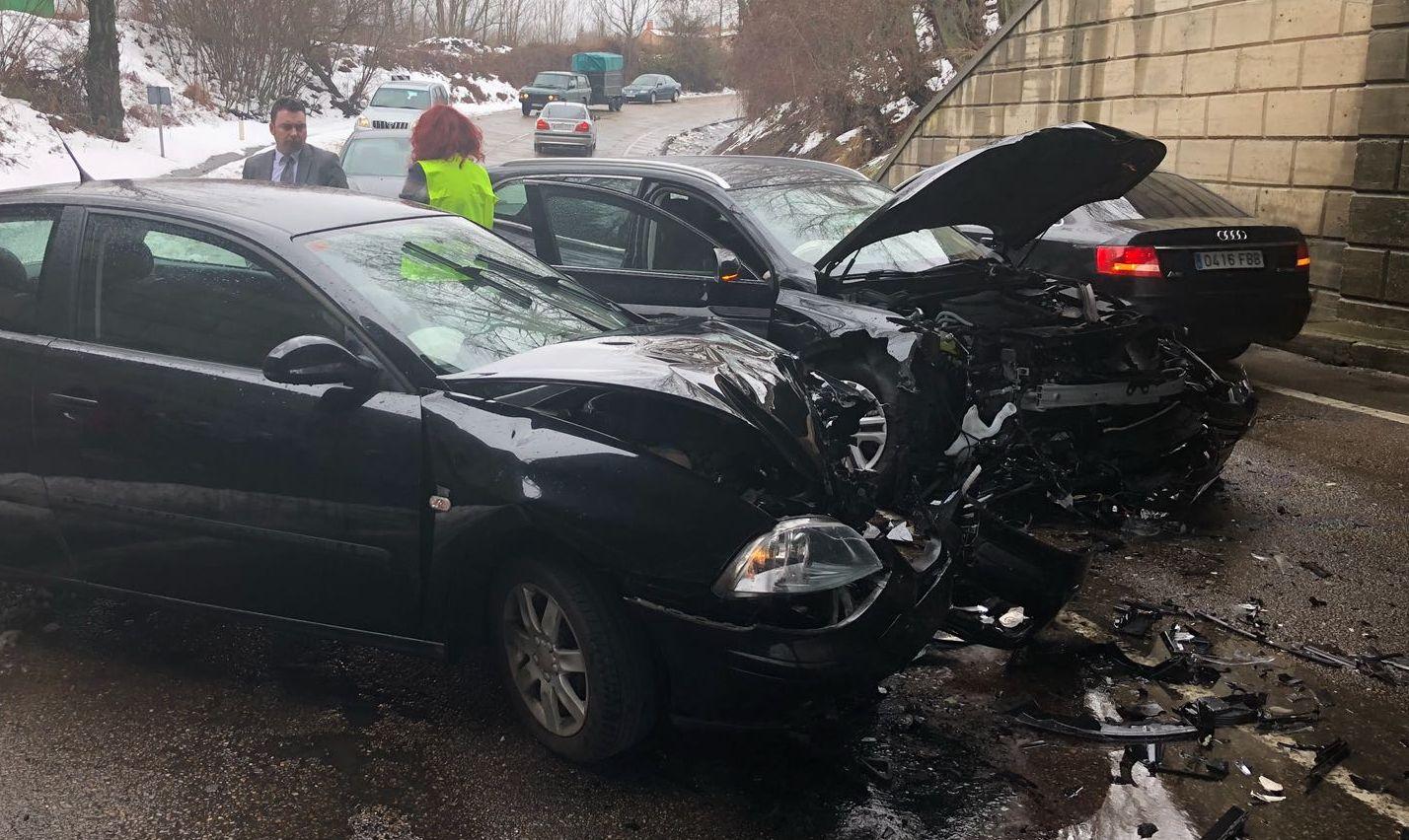 Accidente en Lorenzana