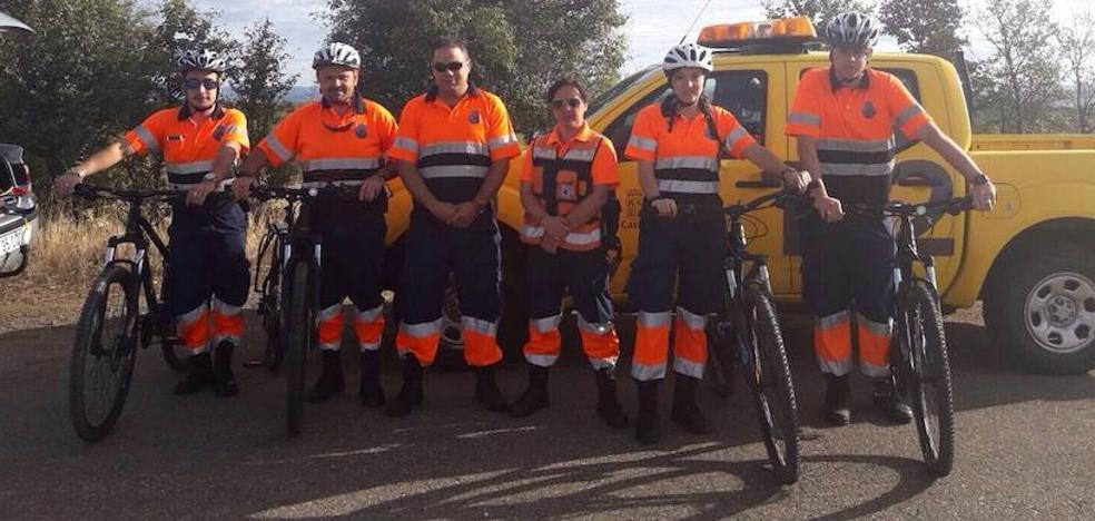 La agrupación de Protección Civil de San Andrés retoma el Programa del Camino de Santiago, que atiende a 6.000 peregrinos al año
