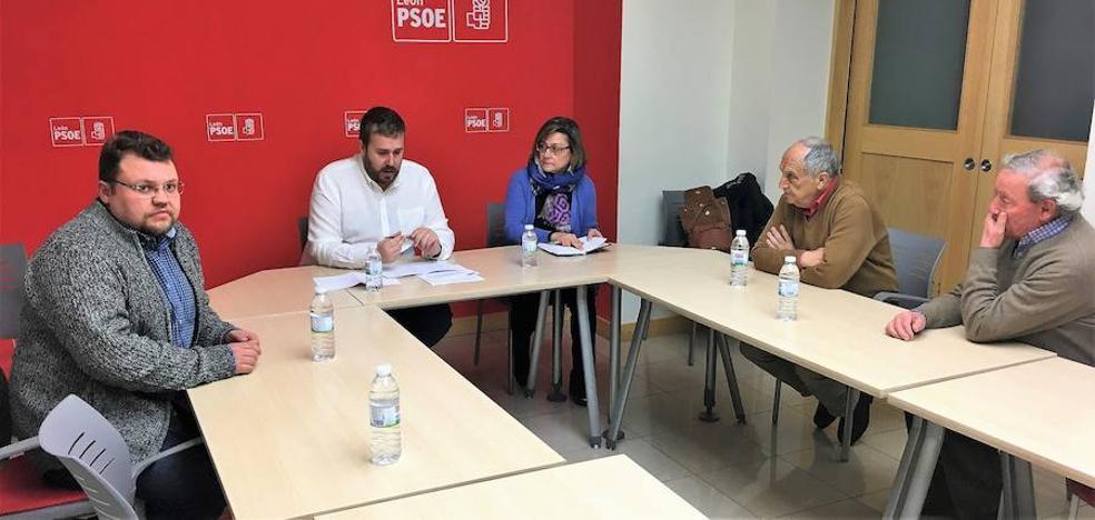 El PSOE pedirá a la Junta la declaración como BIC de todas las rutas jacobeas de la provincia