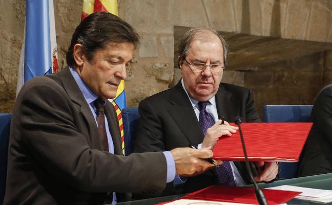 Castilla y León, Asturias y Aragón acuerdan constituir una 'multirregión piloto' que impulse la transición en las comarcas mineras