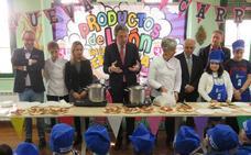 La Diputación pone en marcha la campaña 'Productos de León en la Escuela' que recorrerá 8 centros educativos y en el que participarán 447 niños de la provincia
