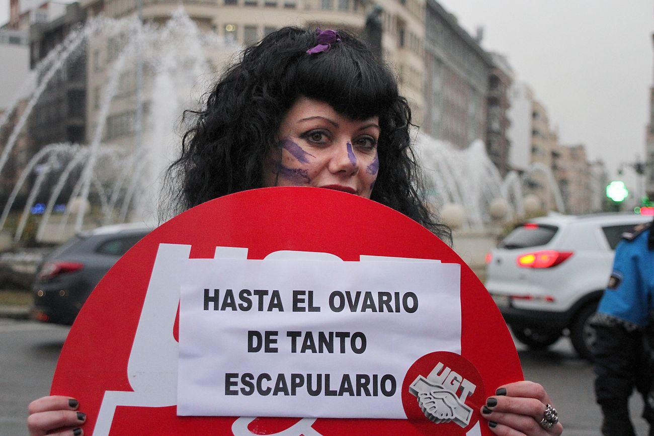 Día de la mujer en León