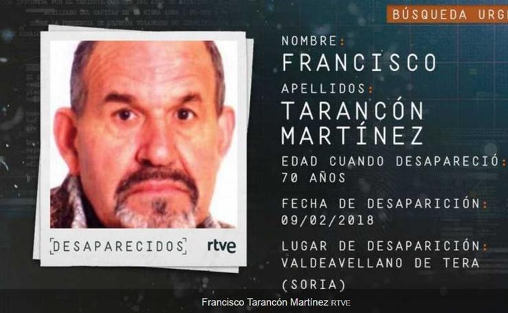 Los carteles de los 14 desaparecidos en Castilla y León