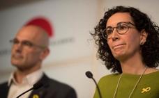 Junqueras y Rovira piden una mayoría amplia y transversal para entrar en una nueva fase