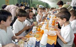 Las familias leonesas elevan la nota del servicio de comedor de sus hijos hasta el 7,9