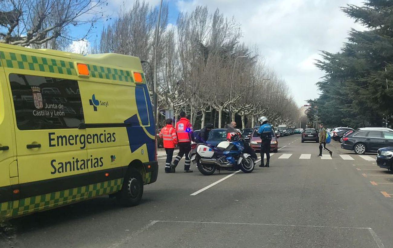 Atropello en León