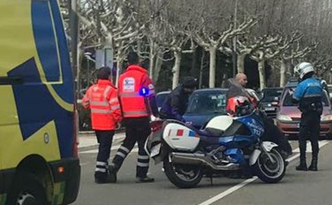 Un peatón herido tras ser arrollado por un vehículo en el Paseo de Papalaguinda