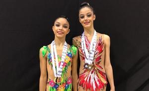 Cinco medallas para Olatz y Paula en Lisboa