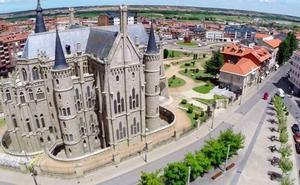 Astorga recibe un 4,3 más de turistas durante el pasado 2017