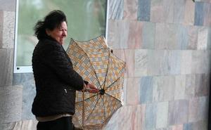 Gisela traerá vientos de 120 km/h a la provincia de León