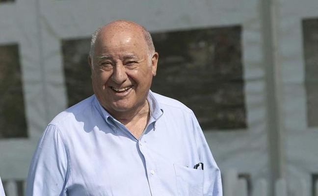 Amancio Ortega retrocede al sexto puesto en la lista de millonarios de Forbes