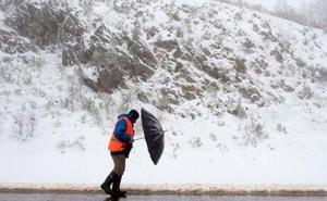 Gisele amenaza con nieve y viento sobre León y pone en alerta a más de media España