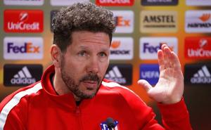 Simeone no descarta a Oblak y da opciones a Torres