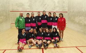 El Hispánico acoge la jornada de Interligas de squash entre León y Burgos
