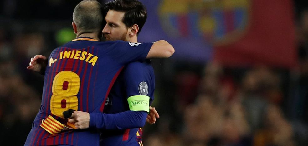 Iniesta se plantea dejar el Barça para ir al fútbol chino