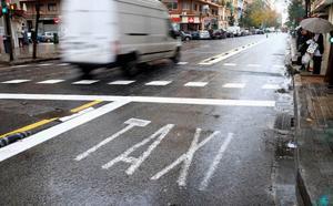 Cientos de taxis se quedan sin circular en Valencia por un error en la tarifa