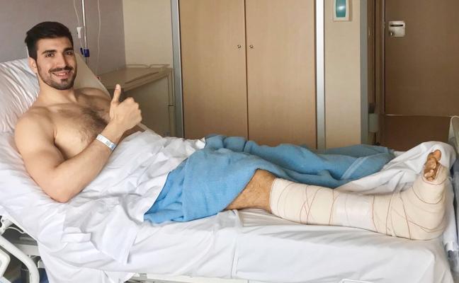 Juanjo Fernández cree que la lesión «no condiciona» su futuro