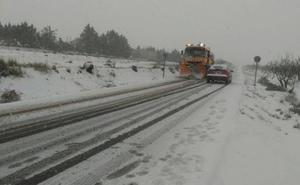 El Gobierno activa la alerta por nieve en carreteras de León