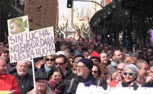León ruge de indignación: miles de personas exigen al Gobierno un sistema de pensiones digno y con futuro