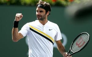 Federer renace de sus cenizas ante Coric y pasa a la final de Indian Wells