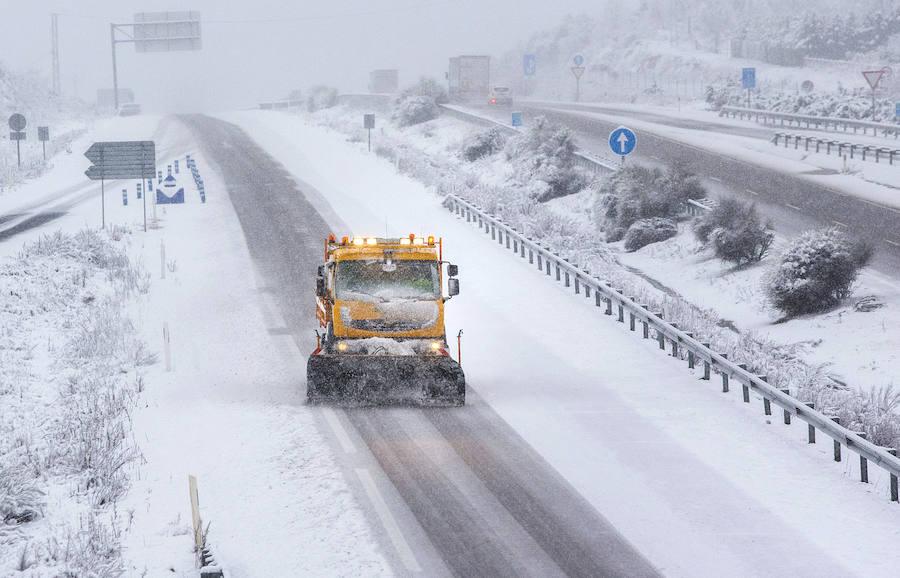 Temporal nieve en Castilla y León