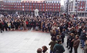Medio millar de concentrados en tres capitales de Castilla y León piden la prisión permanente revisable