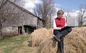 Fomento dedicará este año 3,5 millones para promover internet de alta capacidad en el medio rural