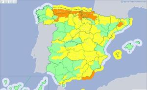 Protección Civil alerta de importantes nevadas en la zona norte de la provincia de León