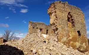 El castillo de Alcuetas será rehabilitado y se consolidará la parte que ha quedado en pie