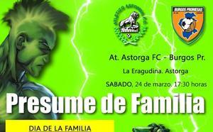 El partido más 'familiar' del Atlético Astorga