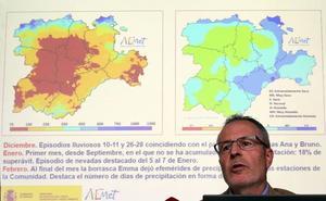 La Aemet prevé lluvias, con una probabilidad del 60%, de jueves a domingo en Semana Santa