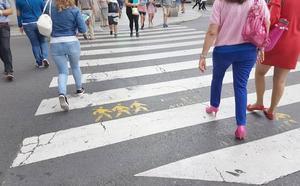 Ciudadanos pide pasos de cebra más seguros para peatones en la ciudad de León