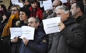 Los funcionarios de Justicia se concentrarán en los Juzgados de León para pedir «retribuciones y condiciones dignas»