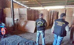 La 'Operación Pacote' contra el contrabando de tabaco, con 124 detenidos, alcanza a León