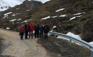 El PSOE reclama presupuesto para el arreglo de la carretera de Villamanín a Aralla