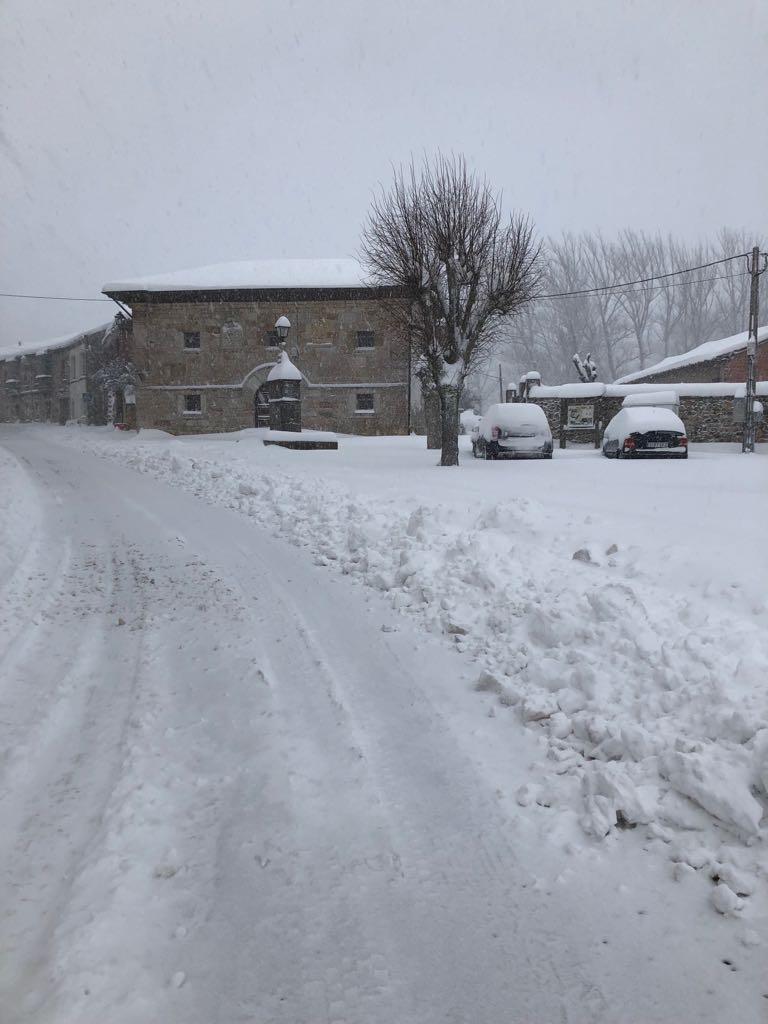 La nieve vuelve con fuerza a la provincia de León