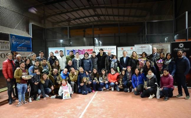 Éxito de participación y organización del Torneo de Pádel de Alfaem