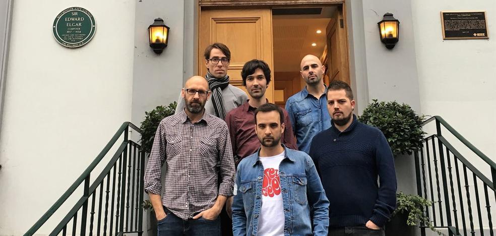 El grupo Polaroids presenta su disco 'Los territorios soñados' en el Albéitar
