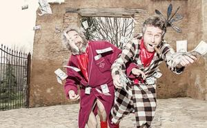 Los Gandules ponen la nota de humor en León