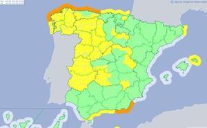 León vuelve a estar en 'alerta amarilla' este viernes por nevadas y fuertes vientos