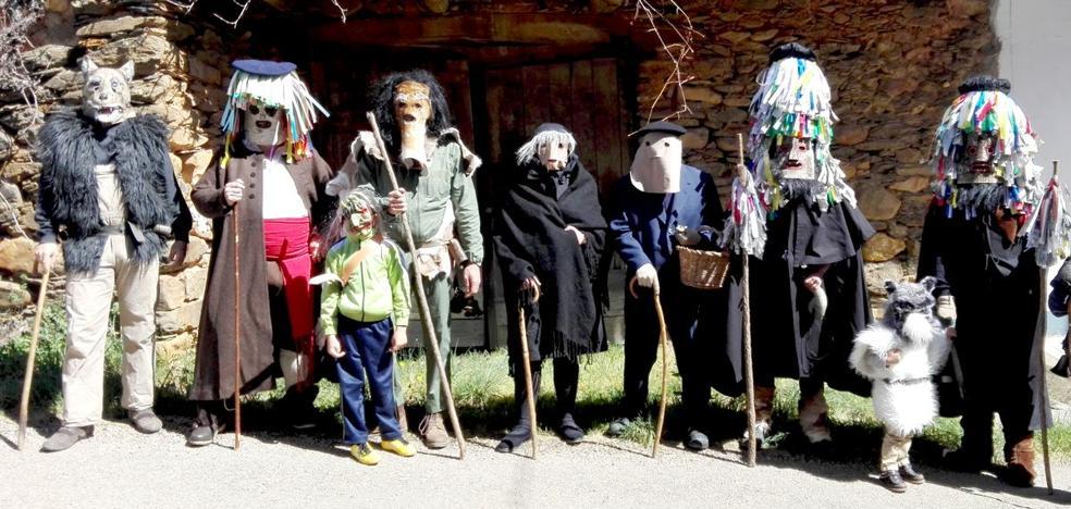 Los Campanones volverán a tomar las calles de Quintanilla de Yuso esta Semana Santa