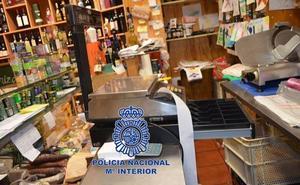 Policía Nacional detiene al autor de un robo con fuerza en establecimiento comercial de León
