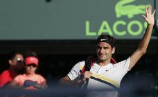 Federer no jugará en tierra batida a pesar de ceder el número uno a Nadal