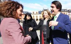 Quiñones adelanta que la inclusión del ramal desde León a los puertos gallegos no se registrará hasta 2023
